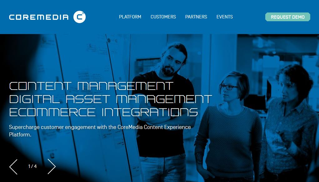 Das Enterprise-CMS CoreMedia