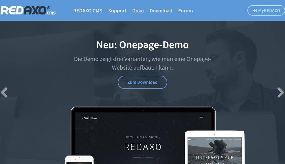 Redaxo, flexibles CMS für den Mittelstand